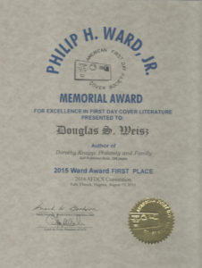 2015 Philip Ward Memorial Award